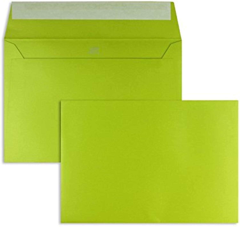 Farbige Farbige Farbige Briefhüllen   Premium   160 x 230 mm Grün (250 Stück) mit Abziehstreifen   Briefhüllen, KuGrüns, CouGrüns, Umschläge mit 2 Jahren Zufriedenheitsgarantie B00L1C3YSQ    | Erste in seiner Klasse  c4a289