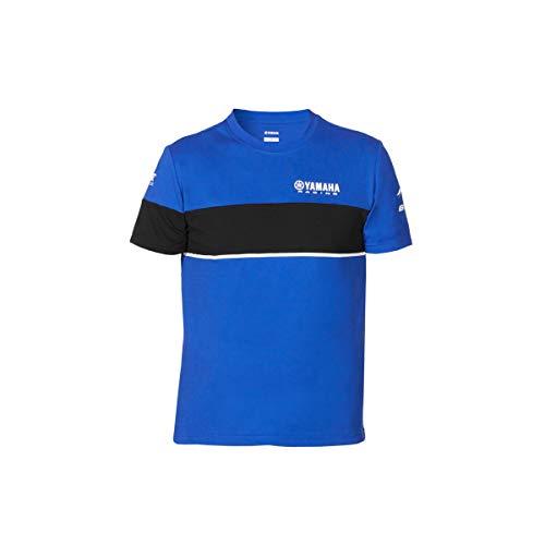 Yamaha Paddock Camiseta Azul Hombre 2020, azul, small
