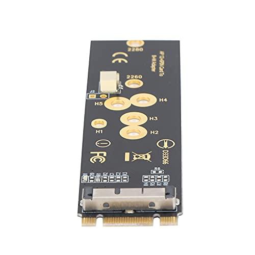 Tarjeta de red inalámbrica, SSD NGFF Key B + M Conector inalámbrico con materiales de PCB, Adaptador WiFi Tarjeta de red para computadoras de escritorio, portátiles y otros dispositivos con interfaz P