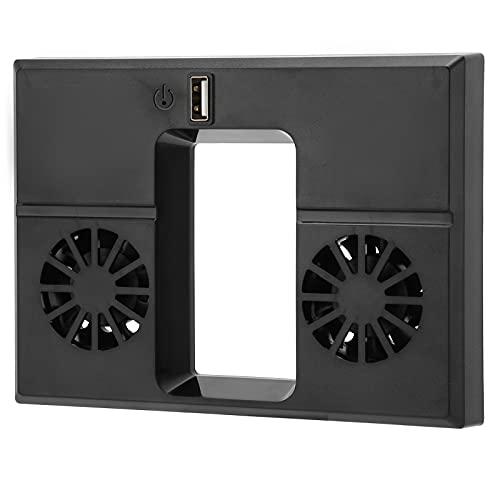 SALUTUY Ventilador De Refrigeración, DC 5V Instalación Pesada con Clip Sistema De Refrigeración De Consola De Ventilador Plug and Play para Serie X Soporte De Cargador Vertical