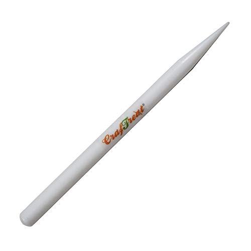 CrafTreat Teflon Pencil Bone Folder and Scoring Tool - Paper Creasing Tool - Paper Scorer for Paper Crafting, Origami, Bookbinding, Scrapbooking - Smooth, Non Stick,Ergonomic Craft Tools