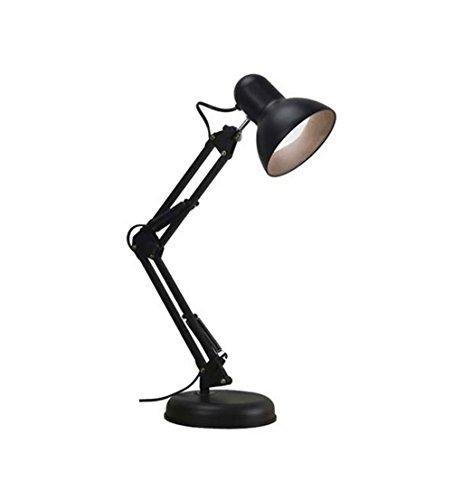STTHOME Lámpara de Mesa Creativa Lámpara de Mesa LED protección para los Ojos Largo Brazo tifón Escritorio Estudiantes universitarios Simple Dormitorio Moderno Clip de Carga pequeña lámpara de Mesa