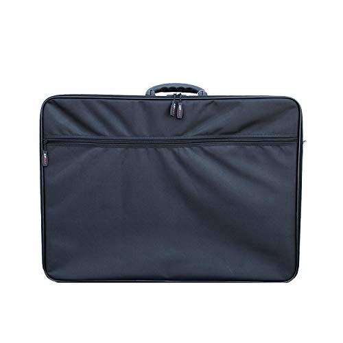 Artway - A2 Portfolio Carry Case - Shoulder and Internal Straps - Large Art Folder with Internal and External pockets