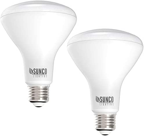 Sunco Lighting 2 Pack BR30 LED Bulb 11W 65W 2700K Soft White 850 LM E26 Base Dimmable Indoor product image