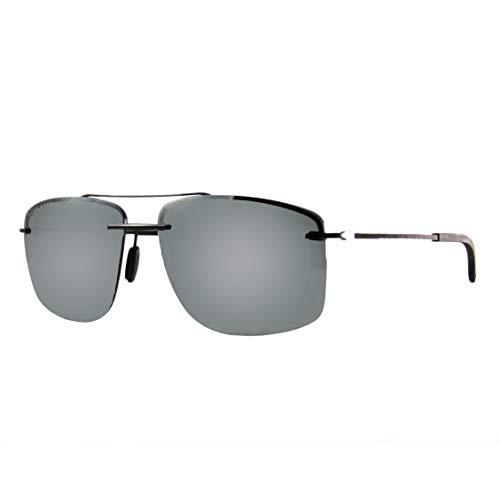 Hugo Boss Herren BOSS 1033/F/S Sonnenbrille, Matte Black, 64