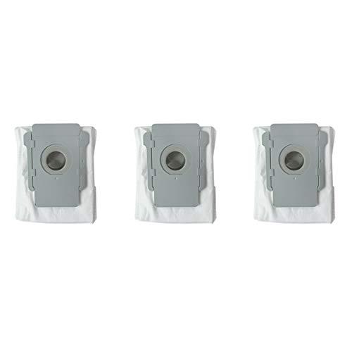 3 stücke staubsauger staubbeutel filterbeutel für irobot roomba i7 i7 + plus e5 e6 roboter staubsauger basis schmutz entsorgung ersatzteile von Yintiod