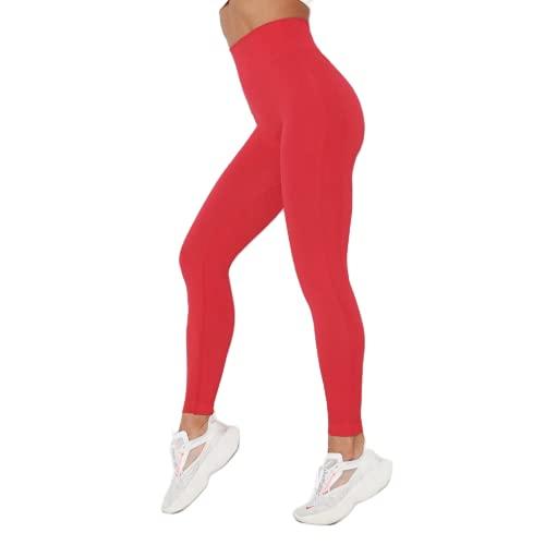 QTJY Pantalones de Yoga de Cintura Alta para Mujer, Mallas para Exteriores, Pantalones de Fitness, elásticos de Secado rápido, Pantalones de Yoga CL