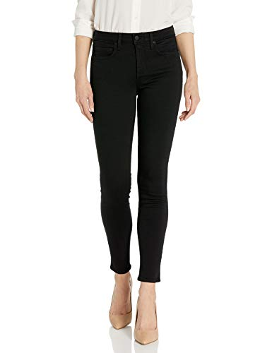 NYDJ Women's Ami Skinny Jeans In Sure Stretch Denim, Black, 4
