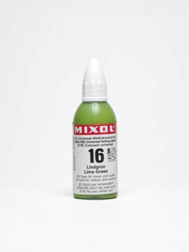 Mixol Universal Tints, Lime Green, 16, 20 ml