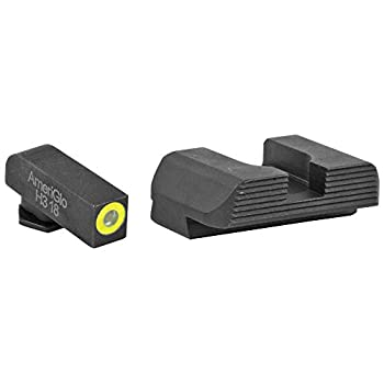 AmeriGlo Protector Front/Rear Fits Glock 42 and 43 Sight Green