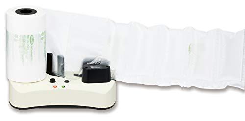 アスウィル エアクッションメーカー ACM01 緩衝材作成機 お試しロール付き ホワイト