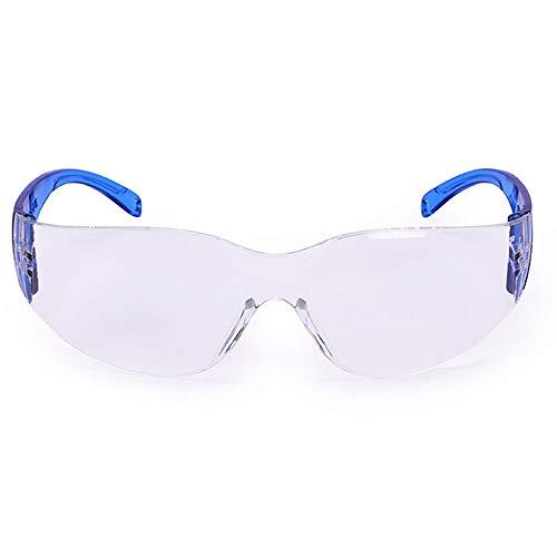 HD Anti-Beschlag-Brille, professionelle Schutzbrille, sanddicht, für Labor, Versicherung, Experimental, Polieren, Anti-Schock, Staub-Brille (Farbe: D)