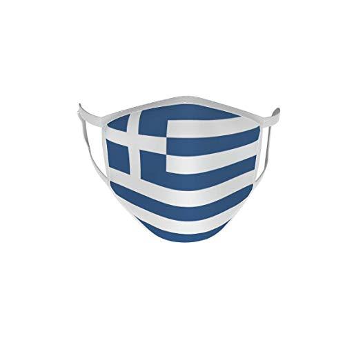 U24 Behelfsmaske Mund-Nasen-Schutz Stoffmaske Maske Griechenland