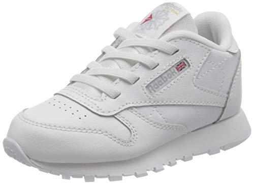 Reebok Classic Leather Sneaker, Ftwwht, 26 EU