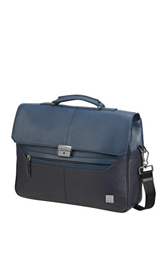 SAMSONITE Senzil Aktentasche, 41 cm, 13.5 Liter, Blue