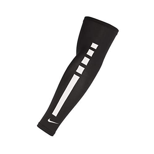 Nike Pro Elite Sleeves 2.0 Unisex Adulto, Unisex - Adulto, N.000.2044.027.LX, Bianco / nero, L