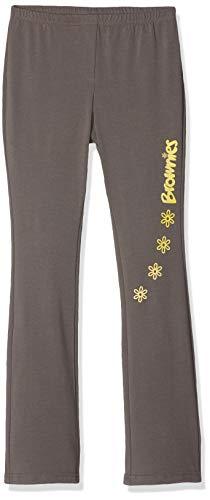 Brownie Girl's Leggings, Brown, 24 inch