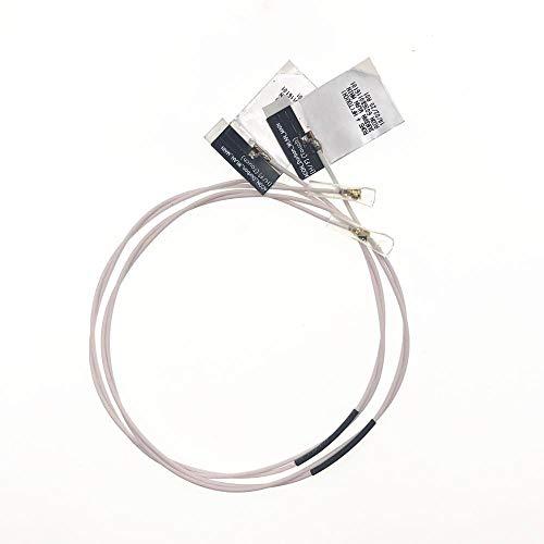 Miwaimao 2Pcs WiFi Wireless Mini PCI PCI-E Card for Intel 6235 6230 8260D2W 7260HMW RTL8821AE Internal Antenna 48cm/18.9'