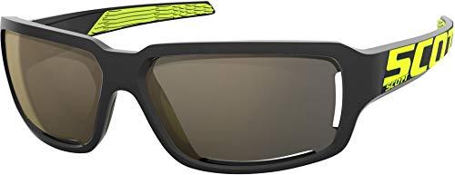 Scott Obsess ACS Sport Sonnenbrille schwarz/gelb/goldfarben Chrome