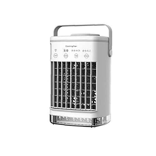Mini condizionatore d'aria portatile USB Desktop Air Cooler Air Humidifier Purificatore fan (senza adattatore) Forniture per la casa intelligente