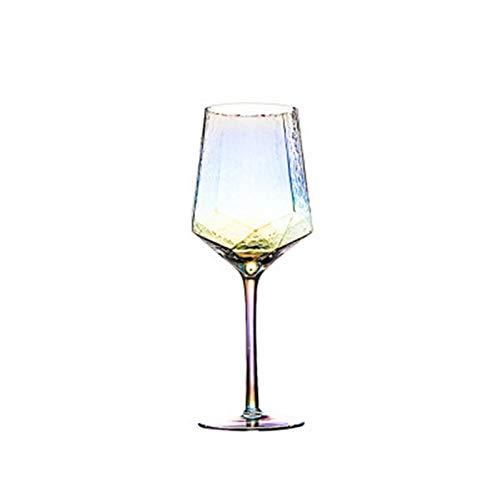 Buntecreative Glas Weingläser Home Becher Rotweinglas Champagner Glas Weingläser Weinglas Mit Gravur (Color : 570ml)