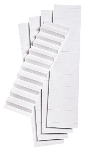Pendaflex Blank Inserts for 1/5 Cut Hanging File Folders, 2 in, White, 100/Pack (242) (3 Pack)