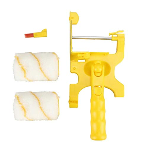 Wall Roller Brush Paint Edger with 2 Replacement Rollers Professional Home Room Ceilings Painting Holiday GFT