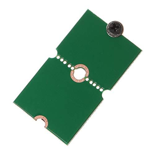 AERVEAL Adapterhalterung, M.2 Nvme MB Schlüssel Ssd 2242 2260 bis 2280 Länge Verlängerungsadapterhalterungen Ssd Soild Hard Disk Converter Frame