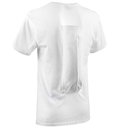 SomnoShirt Standard Anti-Schnarch-Shirt - mit Hartschaumrolle - effektiv & robust (SomniShop-Set) (XL)
