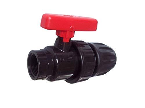 21/mm Agora-Tec PE Mamelon raccord 20/mm x 1//2/AG pour tuyau PE 20/mm noir