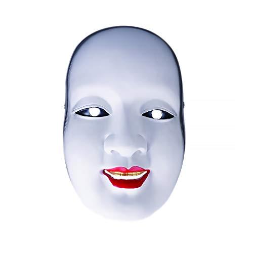 CoolChange Japanische Theater No Maske von Ko-Omote | Asiatische NOH Theatermaske für Frauen | GFK