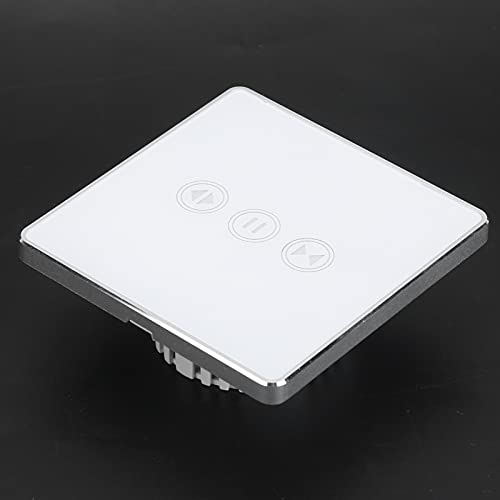 ZHWY Smart Switch WiFi Control Remoto Interruptor Táctil Inalámbrico UK Estándar 800w (95-240vac S201-2)