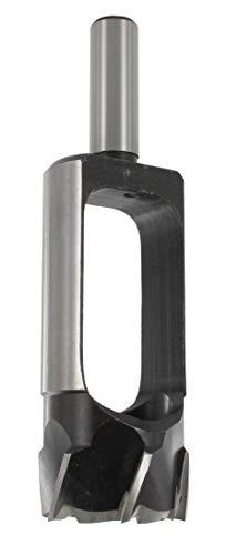 ENT 25310 Proppenboor, Gereedschapsstaal (WS), Schachtdoormeter (S) 13 mm, Proppendoormeter (D) 25 mm, Z5, L 140 mm