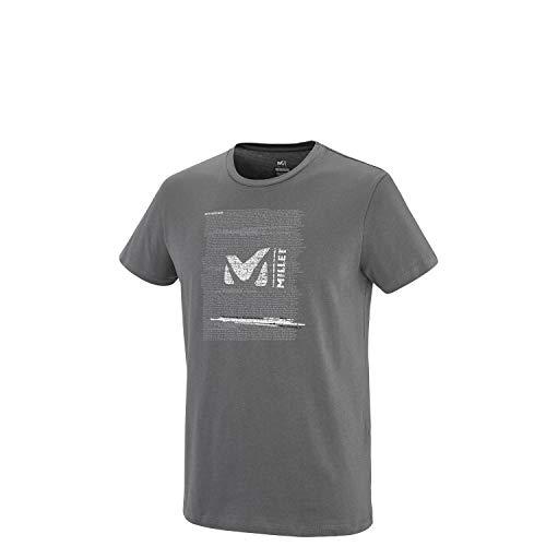 MILLET MIV7774, T-Shirt Uomo, Asfalto, S
