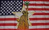 USA Marihuana Liberty Flagge Fahne Grösse 1,50x0,90m