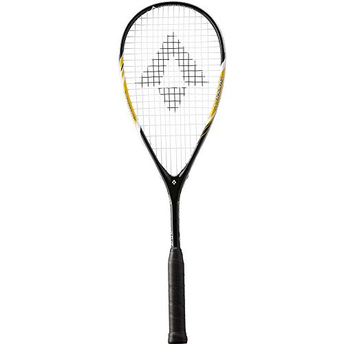 TECNOPRO Squash-Schläger Speed V Squashschläger, Schwarz/Gelb/Weiss, One Size