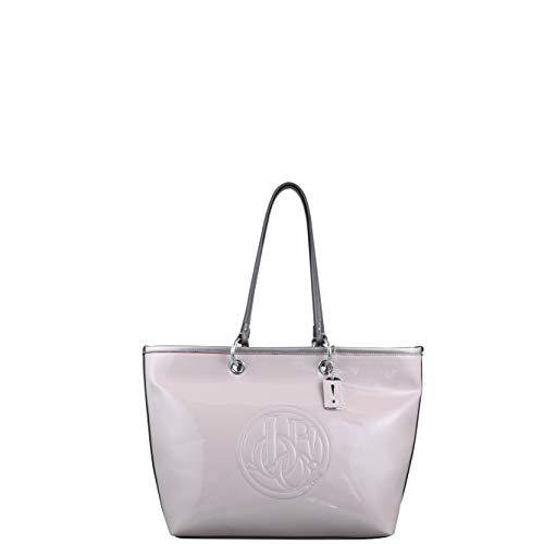 Joop! Damen Jeans perfetto lara Shopper lhz Farbe lightgrey hellgrau Reißverschluss Logo Handtasche