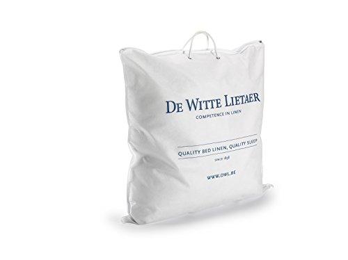 De Witte Lietaer hoofdkussen, katoenen peral, wit, 60 x 60 cm