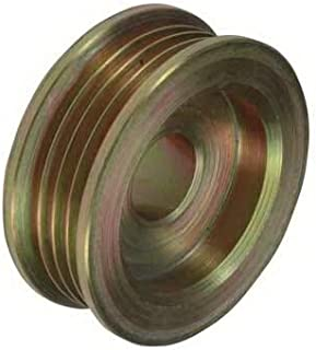 """New Pulley, Compatible with 4-Grooves, 0.67"""" / 17mm ID, 2.44"""" / 61.9mm OD, Delco / 030, 1989030/24-1252/204-12001"""