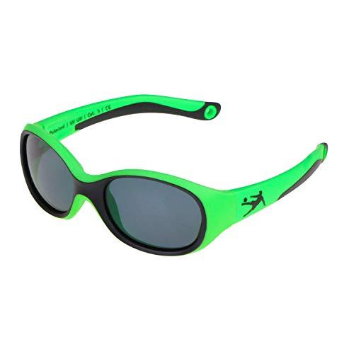 ActiveSol KINDER-Sonnenbrille | JUNGEN | 100% UV 400 Schutz | polarisiert | unzerstörbar aus flexiblem Gummi | 2-6 Jahre | 22 Gramm | Sonnenschutz (Football)