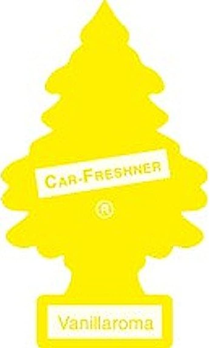 LITTLE TREES Car Air Freshener | Hanging Paper Tree for Home or Car | Vanillaroma | Pack of 6