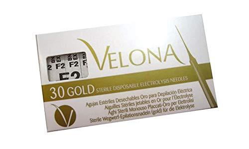 Kerze 30 Nadeln Elektrische Haarentfernung Mod. F2 Gold (für amerikanische Herstellung)
