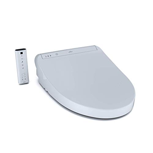 TOTO SW3036#01 K300 Electronic Bidet Toilet Cleansing, Instantaneous Water, PREMIST, Deodorizer, Warm Air Dryer, and Heated Seat, Elongated, Cotton White