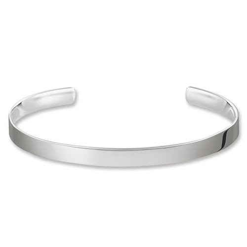 Thomas Sabo Damen-Armreif Love Cuff 925 Silber 8.8 cm - AR087-001-12-L
