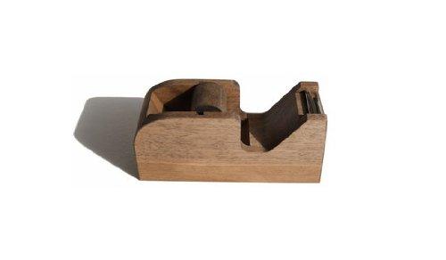 木製 テープカッターS (ブラウン)