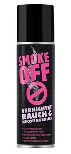 SMOKE OFF Nikotingeruch entfernen Rauchgeruch entfernen und neutralisieren in Auto und Wohnung