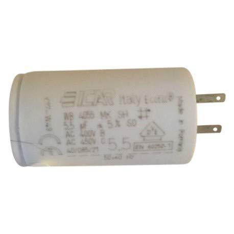3 condensatoren 5,5 μF voor rolluiken Somfy kabelschoenen 28 mm