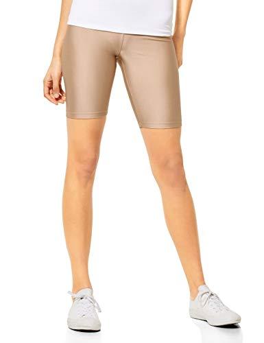 Street One Damen 373032 Shorts, Nude beige, 38