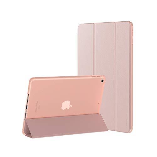 SmartDevil Funda para iPad Mini 2 3 1 con Tapa Inteligente, Ligera Delgada Funda para iPad Mini 3 2 1 con Auto Reposo/Estela y Soporte Función, 7,9' Funda para iPad Mini 1 Mini 2 Mini 3 Oro Rosa