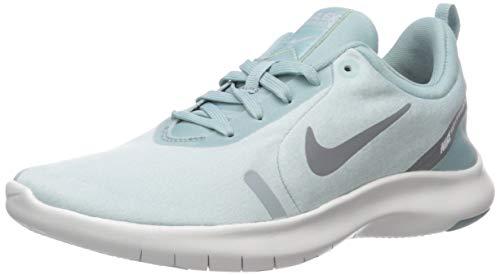 Nike Damen Flex Experience Run 8 Schuh, Ocean Cube/Cool Grey-Pure Platinum 5 Regular US